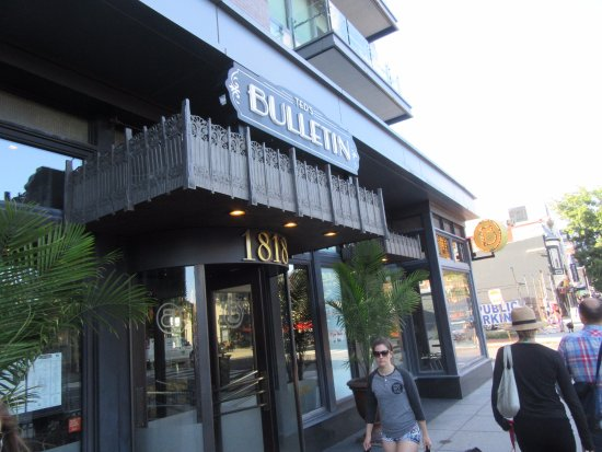 Ted 39 s bulletin american restaurant 1818 14th st nw in for American cuisine restaurants in dc
