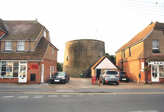 The tower as seen from Dymchurch High Street