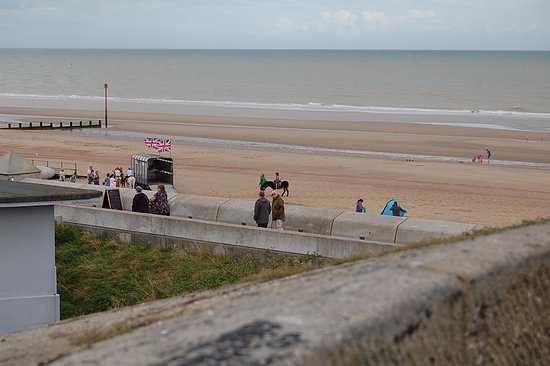 Dymchurch, UK: View from the roof