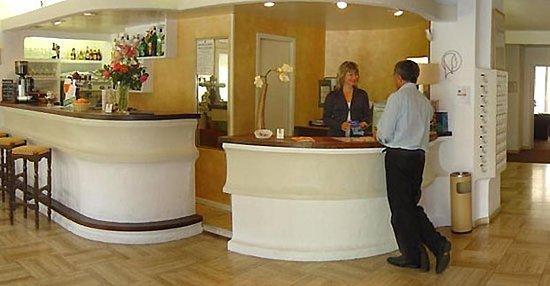 Hotel de la Vallee: Reception