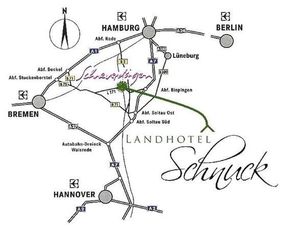 Schneverdingen, Niemcy: Location map