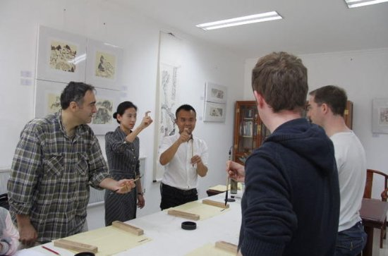 Beijing Private Calligraphy and Dumpling Cooking Classes