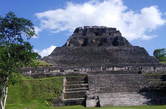 Xunantunich Maya Temple and Big Rock...