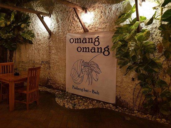 Omang Omang Bar Diner: The Hermit Crab.