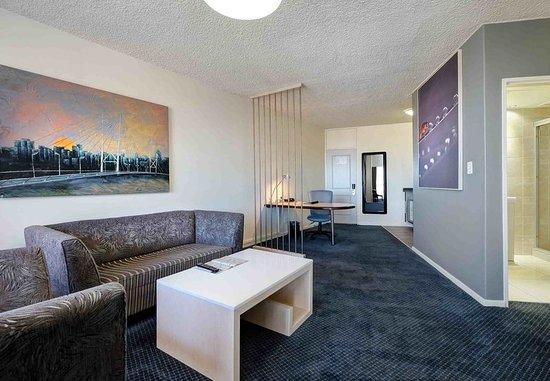 Braamfontein, Sudáfrica: Executive Suite - Living Room
