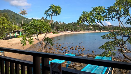 Chaweng strand: The view from The Sarann