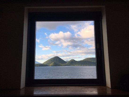 Sobetsu-cho, Japan: 房間望湖景觀