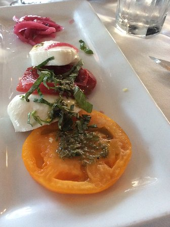 Mission Ranch: Tomato Mozzarella Salad (shared portion )