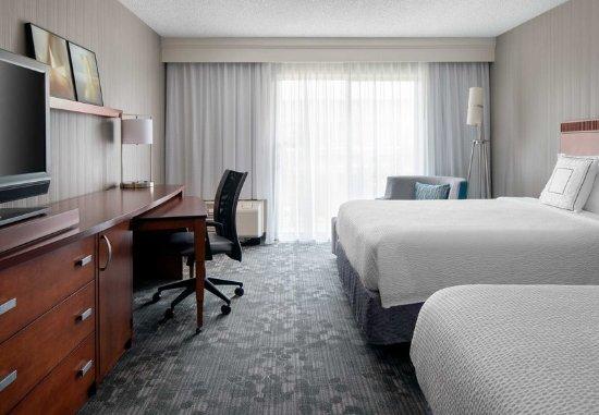 Foster City, Kalifornien: Queen/Queen Guest Room