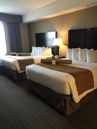 modern room furniture. Best Western Plus Moose Jaw: Nice Modern Room Well Done Up And Comfortable  Beds Furniture C