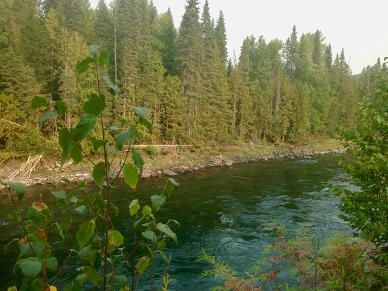 Wells Gray Provincial Park: River
