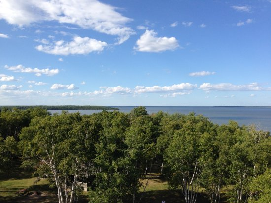 Hecla Island, Kanada: View from the nearby park