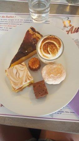 La Garde, France: Les desserts sont excellents