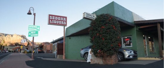 Image result for liquor store sedona AZ