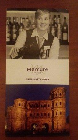 Mercure Hotel Trier Porta Nigra: Mercure Trier Porta Nigra pamphlet