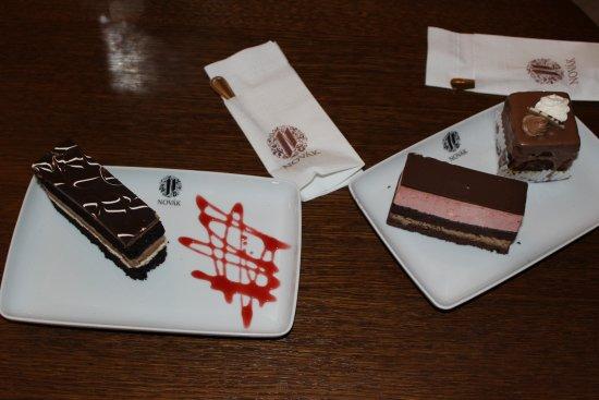 Miercurea-Ciuc, Rumania: Delicious cakes