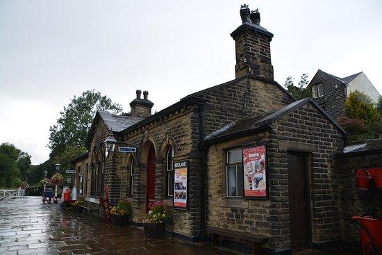 Haworth, UK: The station building at Oakworth