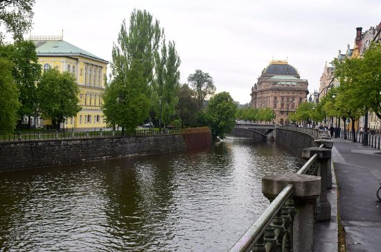 National Theater : Walk in front of National Theatre along the Vltava River is absolutely romantic ..