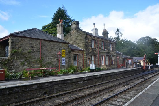 North Yorkshire Moors Railway: Goathland Station