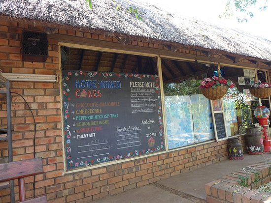 Komatipoort, Zuid-Afrika: Scenes from Jackalberry Coffee shop