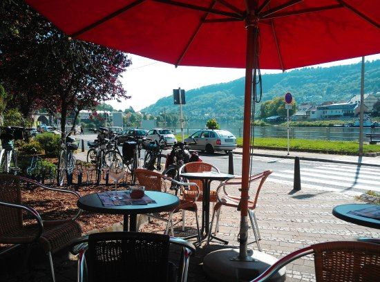 Wasserbillig, Luksemburg: Idealer Stopp für Radfahrer