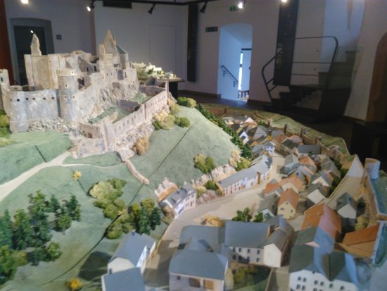 Clervaux, Luxembourg: Maquette