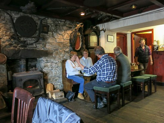 Craignure Inn: Really cosy atmosphere
