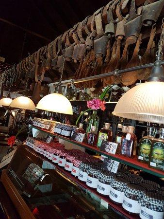 Betancuria, Spagna: Il bancone del bar