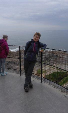 Fethard On Sea, Ireland: me on the top