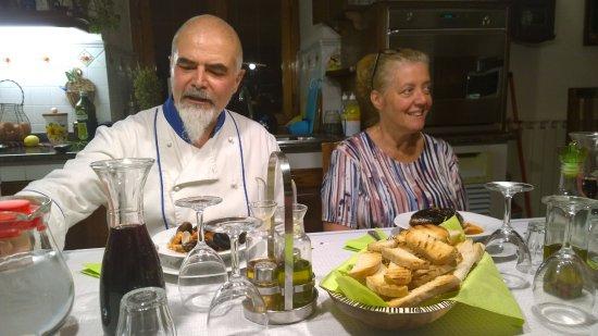 San Godenzo, Italy: ALESSANDRO E MANUELA