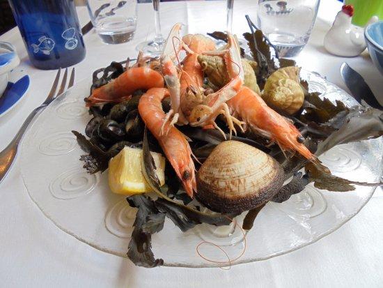 A la marmite dieppoise : assiette fruits de mer