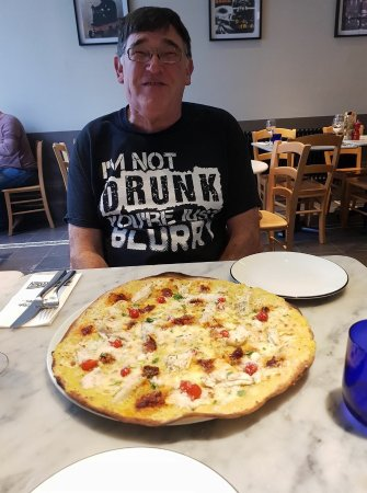Traditional American Pizza Picture Of Pizza Express