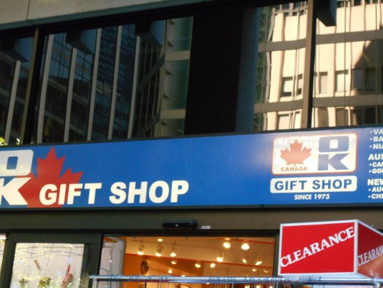 OK Gift shop