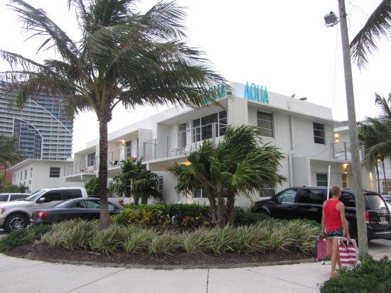 The Aqua Hotel Aufnahme