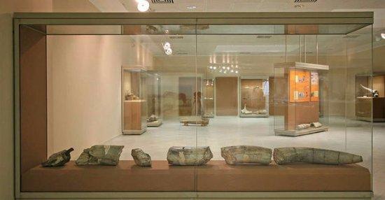 Ptolemaida, กรีซ: φωτογραφία από τον εσωτερικό χώρο του μουσείου
