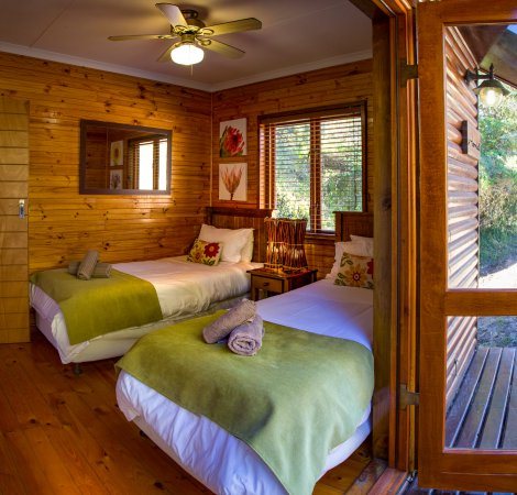 Thunzi Bush Lodge: Hornbill Second Bedroom