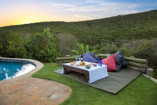 Thunzi Bush Lodge: Picnic @ the Pool