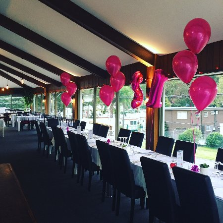 Woronora, Australia: Set up for a party