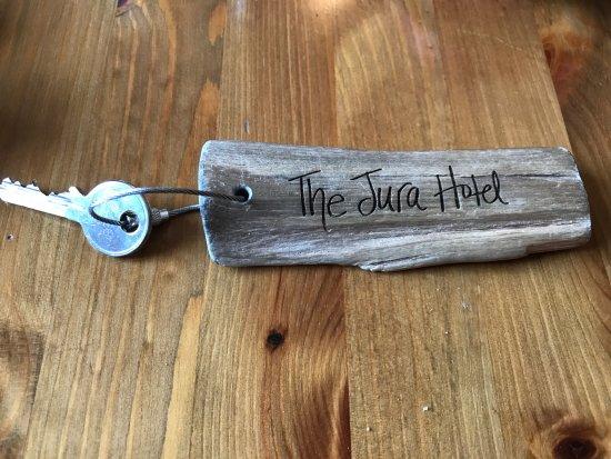 Isle of Jura, UK: Nice Key Fob