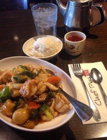 Chef Ping: морепродукты в кисло-сладком соусе