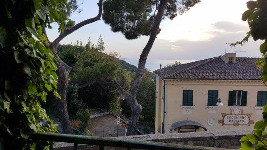 Vista dalla terrazza - Picture of Orlandi Albergo Ristorante ...