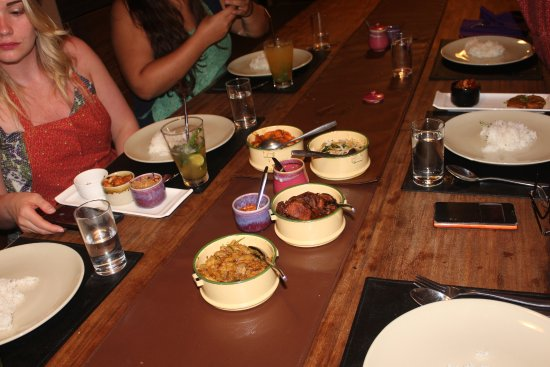Maret, Thailand: The food one of the courses