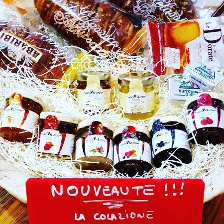 La Valtellina: Nouveauté !!! La colazione (petit déjeuner italien), 3 formules au choix.(mini, media, golosa)