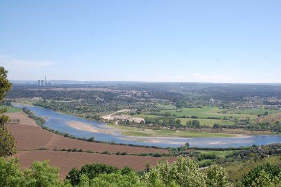 Abrantes, Portugal: Vista dos Jardins do Castelo
