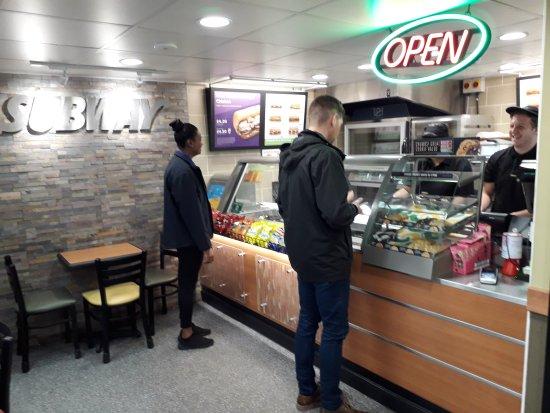 Attleborough, UK: Subway