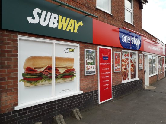 Attleborough, UK: Subway