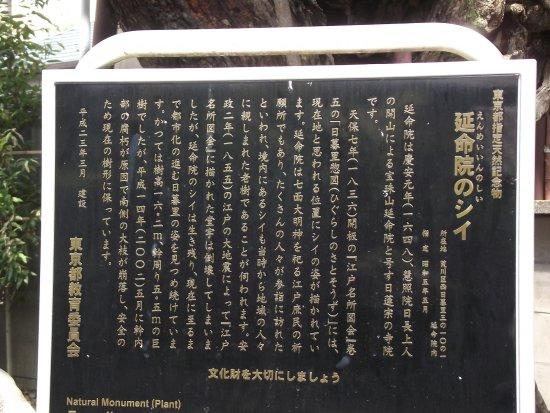 荒川区, 東京都, 説明板