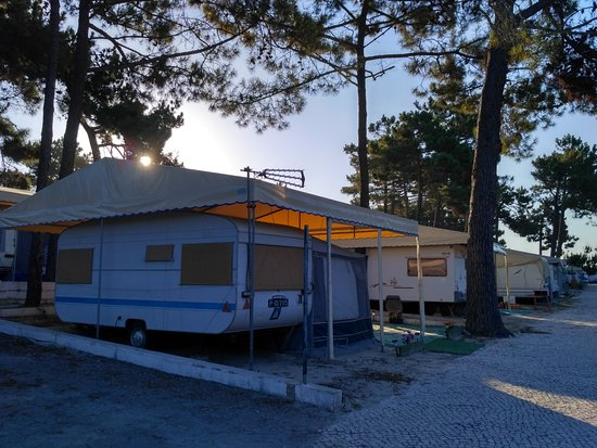 Vila Nova de Santo Andre, Portugal: Igualito que la zona de acampada
