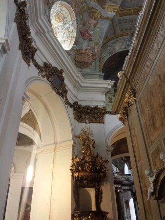 Brno, جمهورية التشيك: Inside church