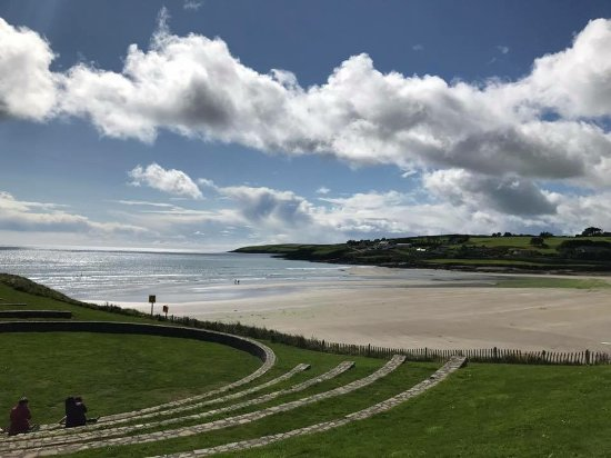 Inchydoney Island Lodge & Spa: View of beach and wedding ceremony area